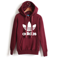 Adidas: sports leisure fleece jacket couple costume
