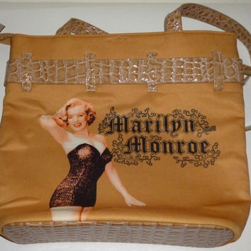 Movie Star Marilyn Monroe Purse Bag