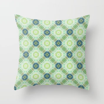 Mosaic Throw Pillow by g-man