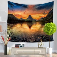 Hot Indian Mandala Tapestry Wall Hanging Natural scenery Printed Home Decor Tapestry Beach Throw Towel Yoga Mat Table Cloth
