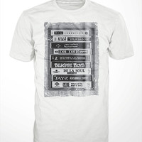 Hip Hop Tapes T-Shirt - classic 90s rap music, dj tshirt, mens, womens, gift, notorious big, tribe called quest, dr. dre, jay z, krs one