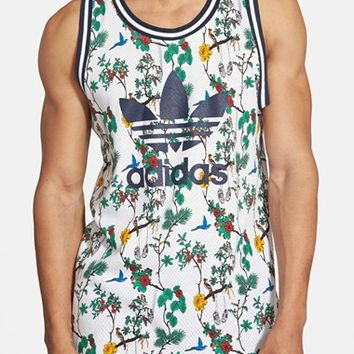 Men's adidas Originals 'Island Superstar' Mesh Jersey Tank Top,