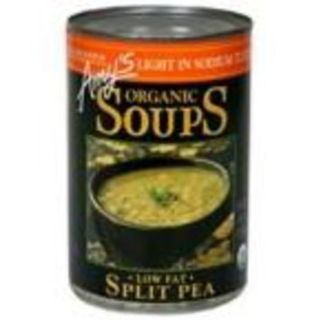 Amy's Kitchen Low Sodium Split Pea Soup (12x14.1 Oz)