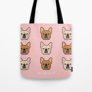 Frenchie Addiction by Frenchie Love Tote Bag by Frenchie Love