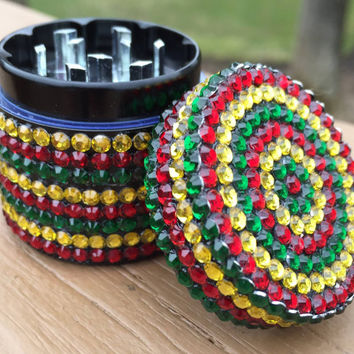 GRINDER -- MINIS Collection -- Rasta Stripe Mini