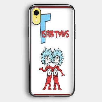 Thing 1 And Thing 2 iPhone XR Case | Casefruits