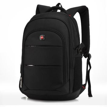 Student Backpack Children New arrive Men's Business Backpacks 17 Inches Computer Bagpack Fashion Students School Bag Brand Notebook Laptop Rucksack AT_49_3