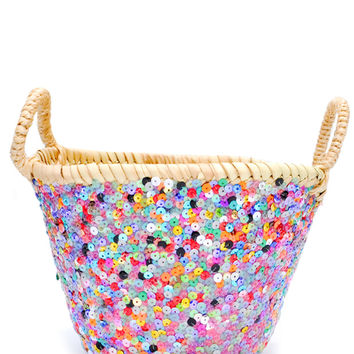 Sequin Basket