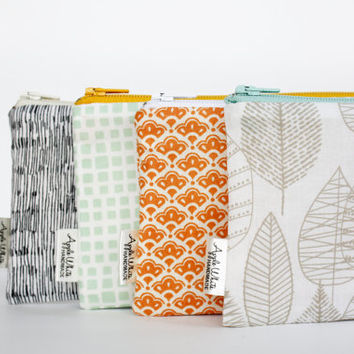 Zipper Pouch, Pencil Pouch, Pencil Case, As Seen On West Elm, College, Kids, School Supplies, Teens, Women, Organize