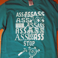Ass Ass Ass Hammertime Big Sean Dance Teal Shirt by scstees