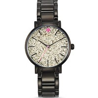kate spade new york Black Gramercy Watch, 34mm