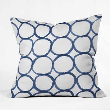 Social Proper Ringful Throw Pillow
