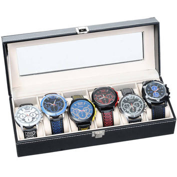 6 Piece Watch Case