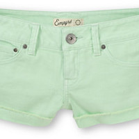 Empyre Dani Mint Green Denim Shorts