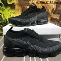 Nike Air Vapor Max Plyknit 2018 Causal Running Shoes Black