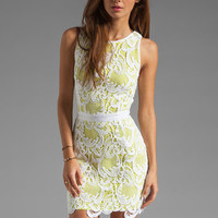 Wish Lotus Dress in Limepop from REVOLVEclothing.com