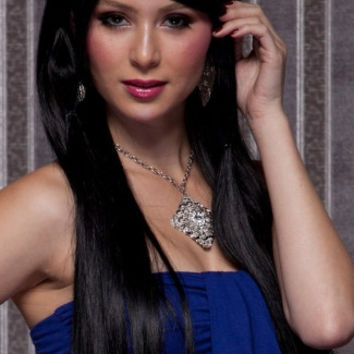 Dark Onyx Long Straight Wig