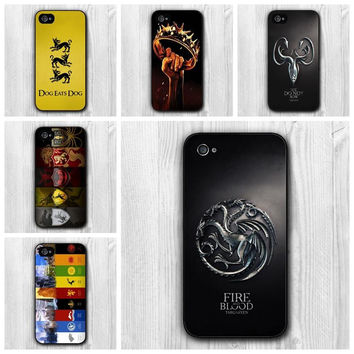 Game of Thrones Case For Apple iPhone 5 5G House