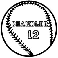Personalized Baseball Name | kidecals