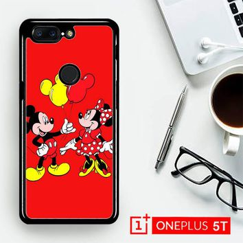 Baloon Love Mickey Minnie Mouse V1574  OnePLus 5T / One Plus 5T Case