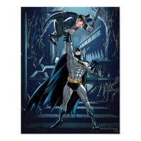 Batman vs. Penguin Print from Zazzle.com