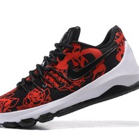 "2017 Nike  Zoom  KD 8 Kevin Durant  Ⅷ   ""Black Rose"" Men's    Basketball Shoes"