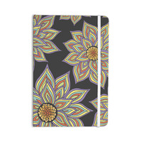 "Pom Graphic Design ""Floral Rhythm in the Dark"" Everything Notebook"