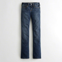 Girls Stretch Low-Rise Boot Jeans | Girls Bottoms | HollisterCo.com