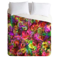 Lisa Argyropoulos Colour Aquatica Passion Pink Duvet Cover