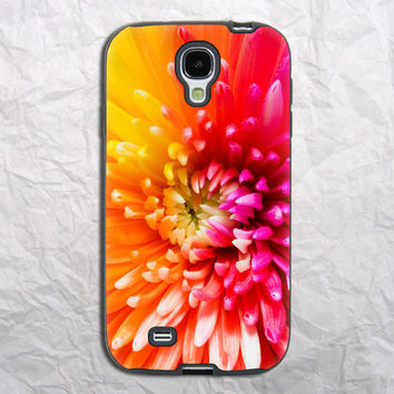 Colorful Floral Samsung Galaxy S4 Case