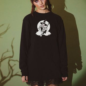 Tatted Bruja Long Sleeve Tee