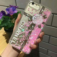 CHANEL Fashion iPhone Phone Cover Case For iphone 6 6s 6plus 6s-plus 7 7plus hard shell G-AGG-CZDL