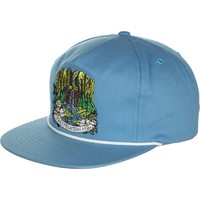 Volcom Man Soda 5-Panel Strapback Hat False Blue, One