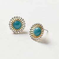 Midnight Starburst Posts by Anthropologie Turquoise One Size Earrings