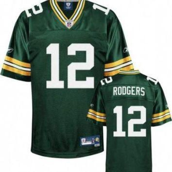 PEAPYD9 Aaron Rogers Nike Elite Green Stitched NFL football jersey