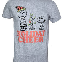 Peanuts Charile Brown Christmas Tree Snoopy Christmas Cheer T-shirt