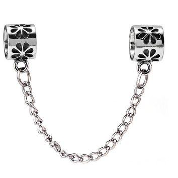 Silver-colored Charm Fit Bracelet