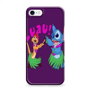 Luau Timon Silhouette And Stitch Disney iPhone 6 | iPhone 6S case