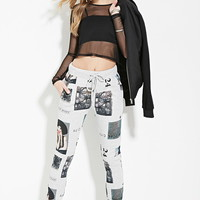 New York Graphic Joggers | Forever 21 - 2000153721
