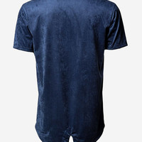 Fishtail Tee (Royal Suede)