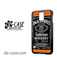 Jack Daniel's Whiskey For Samsung Galaxy S5 Case Phone Case Gift Present