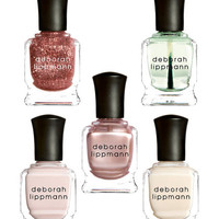 Nail Polishes (Set of 5) by Deborah Lippmann at Gilt