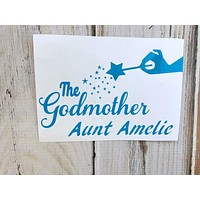 The Godmother vinyl decal