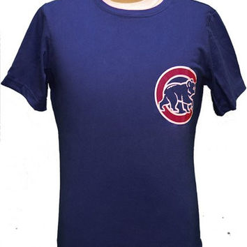 Woman's 2XL MLB Chicago Cubs Soriano #12 Blue Jersey T-shirt 2XL