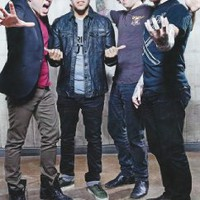 """Fall Out Boy Fabric Cloth Rolled Wall Poster Print -- Size: (36"""" x 24"""" / 20"""" x 13"""")"""