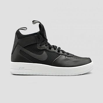 qiyif NIKE - Men - Air Force 1 Ultraforce Mid - Black/White