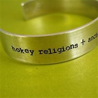 Hokey Religions Han Solo Cuff - Spiffing Jewelry