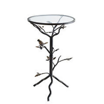 Perched Bird Accent Table