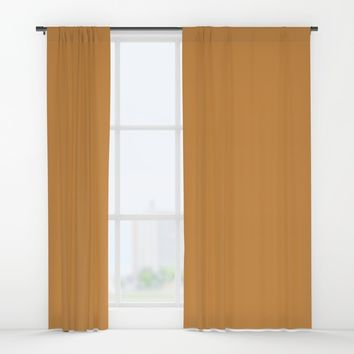 Monochrome collection Mustard Window Curtains by ArtGenerations