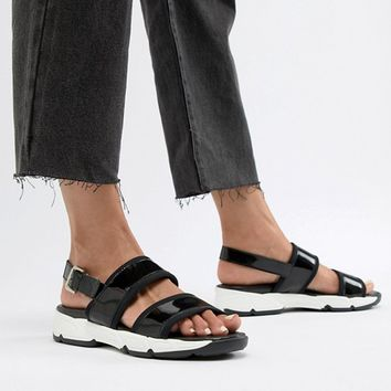 Sixty Seven Flat Sandals at asos.com